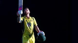 Matthew Wade's maiden ODI ton finds a way into records book