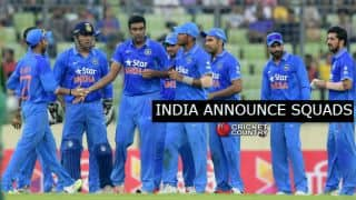 MS Dhoni to lead India in limited-overs against South Africa; Gurkeerat included in ODIs