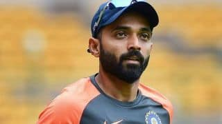 Ajinkya Rahane opens up on being left out of India's World Cup 2019 squad