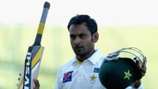 Mohammad Hafeez ignored for training camp for Tests against Sri Lanka