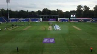 India vs England 2nd ODI at Cardiff 2014: Weather Update