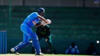 Under-19s Asia Cup: Arjun Azad, Tilak Varma century guide India to 60 runs win over Paksitan