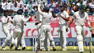 India trounce Australia by 8 wickets in Dharamsala Test to reclaim Border-Gavaskar Trophy 2016-17