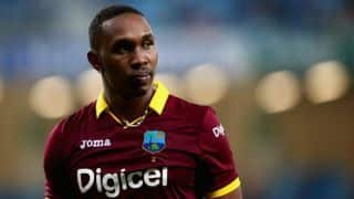 Dwayne Bravo unlikely to be part of ODI series against India