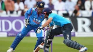 MS Dhoni surprised by amount of turn in Nottingham pitch