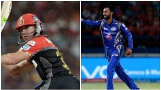 मुंबई इंडियंस का ये गेंदबाज है ए बी डीविलियर्स का 'शिकारी' !