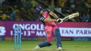 मुंबई को 4 विकेट से हराकर राजस्थान ने हासिल की टूर्नामेंट में दूसरी जीत