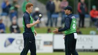 Kevin O'Brien, Barry McCarthy help Ireland bundle Afghanistan out for 250 in 2nd ODI at Belfast
