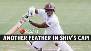 Shivnarine Chanderpaul goes past Mahela Jayawardene in list of leading Test run-scorers