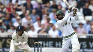 Amla, de Kock's fifties place SA on top vs ENG at tea in opening day of 2nd Test