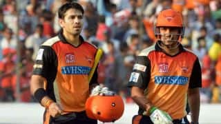 IPL 2014: Sunrisers Hyderabad (SRH) vs Kings XI Punjab (KXIP), Match 39 at Hyderabad