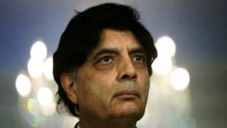 Nisar Ali Khan concerned regarding security threats for Pakistan in ICC World T20 2016