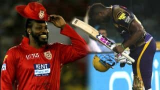 IPL 2018: Chris Gayle is Andre Russell's role model