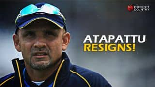 Marvan Atapattu resigns as Sri Lanka Head Coach
