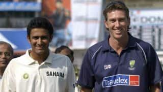 Glenn McGrath backs Anil Kumble to succeed as India's coach