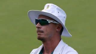 Dale Steyn scores his second Test half-century