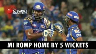 Mumbai Indians recover from disastrous start to beat Delhi Daredevils by 5 wickets