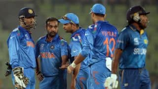 ICC World T20 2014: Sri Lanka post 153/6 against India in warm-up tie