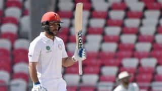 One-off Test: Rahmat, Shah-Shahidi stand hand Afghanistan advantage