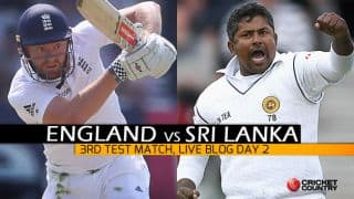 SL 162/1, Session 3, Day 2, 3rd Test, Live scores and updates of Eng vs SL