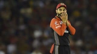 IPL 2019: Virat Kohli fined Rs. 12 lakh for maintaining slow over-rate against KXIP