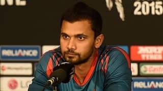 Mashrafe Mortaza hopeful of England touring Bangladesh