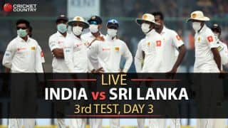 Live cricket score, India vs Sri Lanka, 3rd Test, Day 3: STUMPS