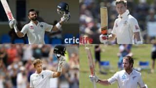 POLL: Virat Kohli, Steven Smith, Joe Root or Kane Williamson — Who is the best Test batsman among them?