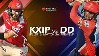 Kings XI Punjab vs Delhi Daredevils, IPL 2016 Match 36 at Mohali, Preview: Reeling KXIP take on exciting DD