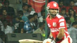 Manan Vohra dismissed in Kings XI Punjab vs Rajasthan Royals, IPL 2014