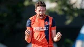 ICC World Cricket League Championship: NED beat HK by 5 runs