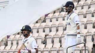 IND vs NZ, Live: एक रन से अर्धशतक से चूके अजिंक्य रहाणे, Ravindra Jadeja पर मैदान पर आखिरी बल्लेबाज