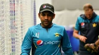 Sarfraz Ahmed unhappy with Taunton greentop; complains why Indians always get wickets which are good for batting: Report