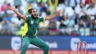 Imran Tahir alone strengthened us on his own, says Faf Du Plessis