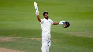 Rishabh Pant shows intent, Twitter can't stop gushing