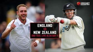 Live Cricket Score England vs New Zealand 2015, 2nd Test at Headingley, Day 4, ENG 44/0 after 13 overs: Play abandoned due to rain