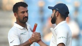 Pujara's Test record as good as anyone's, says Sourav Ganguly