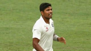Umesh Yadav picks up 50 wickets in Tests during India vs South Africa 2015, 4th Test, Day 2