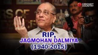 Jagmohan Dalmiya: Indian cricket's first Godfather