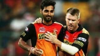 IPL 2018: David Warner's shoes not easy to fill, believes Bhuvneshwar Kumar