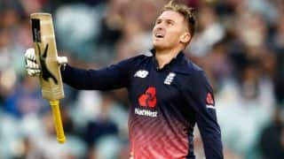 Jason Roy credits England's middle-order for his record-breaking ODI century