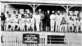 1863-64: First First-Class match in New Zealand