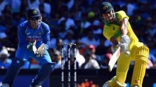 Winning captain Aaron Finch pleased with Australia's batting depth