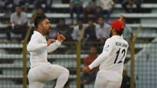 Only Test: Rashid, Zahir wreck havoc to take Afghanistan closer to famous win