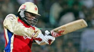 Chris Gayle makes comeback from injury in competitive cricket