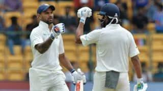 Shikhar Dhawan, Murali Vijay climb charts in ICC Test batting ranking