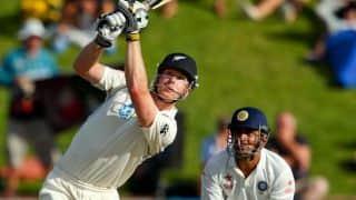 James Neesham scores ton on Test debut
