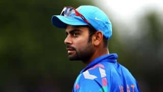 Virat Kohli promises to let his bat do the talking