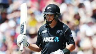 Ross Taylor equals Nathan Astle's record of most ODI tons for New Zealand