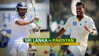 Live Cricket Score, Sri Lanka vs Pakistan 2015, 2nd Test, Day 2 at Colombo, SL 304/9: STUMPS